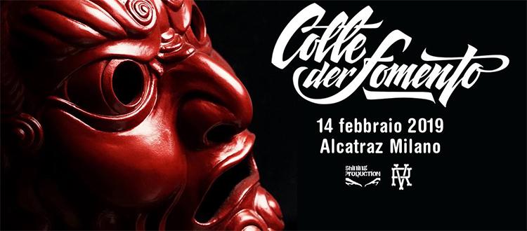 Colle Der Fomento Concerto 14 febbraio Alcatraz