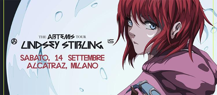 Lindsey Stirling a Milano 14 Settembre Alcatraz