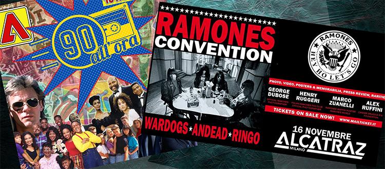 90 Allora e Ramones Convention Alcatraz