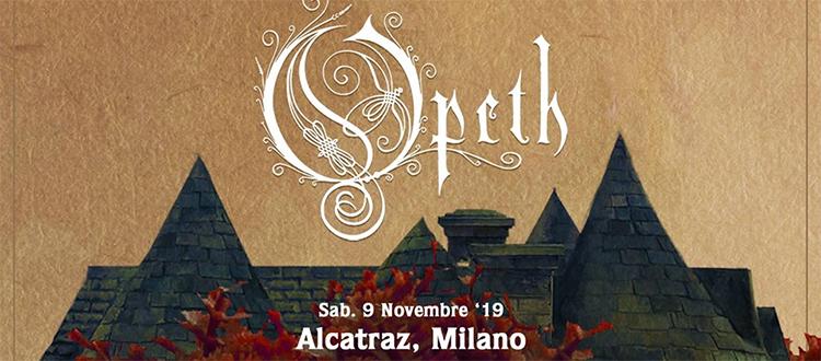 OPETH Milano 9 Novembre 2019 Alcatraz