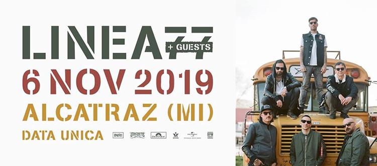 Linea77 6 novembre 2019 Alcatraz