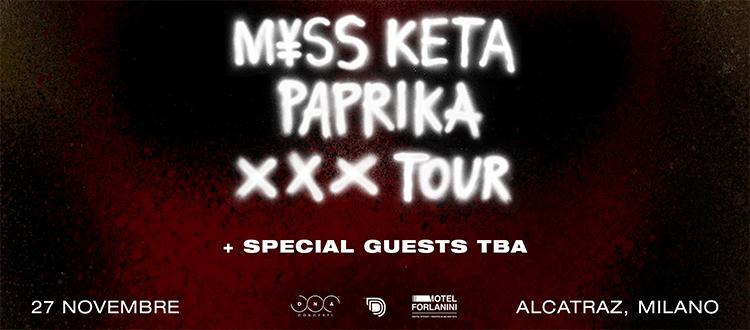 Myss Keta Paprika Tour Alcatraz