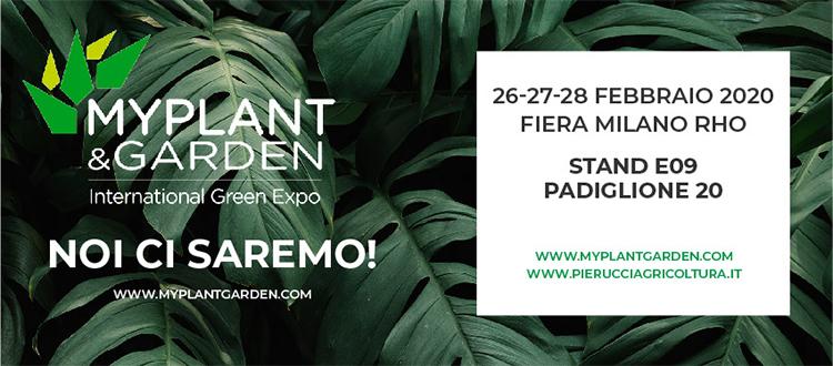 MYPLANT e GARDEN 2020 Fiera Milano Rho