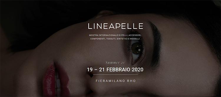 LINEA PELLE 2020 Fiera Milano Rho